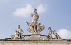 雕刻的构成 免版税图库摄影