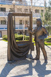 雕刻的构成 免版税库存图片