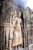 雕刻006的Apsara 库存图片