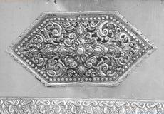 雕刻银器的艺术和样式 免版税图库摄影
