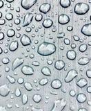雨下落是发生故障湿 免版税库存照片