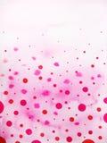 雨下落背景水彩绘画例证设计 图库摄影