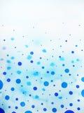 雨下落背景水彩绘画例证设计 免版税库存图片