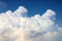 雨云在Cloudscape 库存照片