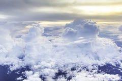 雨云在Cloudscape 免版税图库摄影