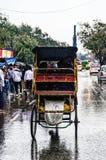 雨在Dehli 库存图片