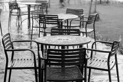 雨天在9月 免版税库存图片