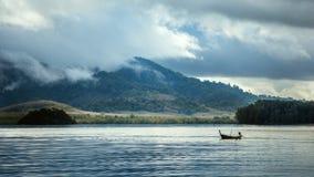 雨季在亚洲 免版税库存照片
