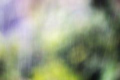 雨摘要,背景 免版税库存图片