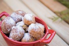 雨曲奇饼,传统巴西甜点 库存图片