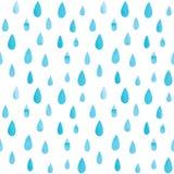 雨样式 免版税库存图片