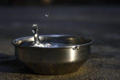雨水挽救 免版税库存图片