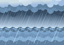 雨海运 皇族释放例证