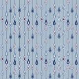 雨珠样式 免版税库存照片