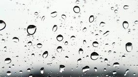 雨珠 库存照片
