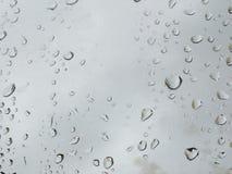 雨珠 免版税库存照片