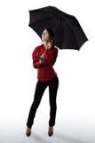 雨等待 免版税库存图片