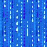 雨纹理 库存例证