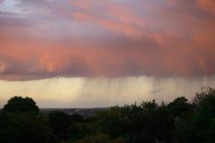 雨风暴 免版税库存照片