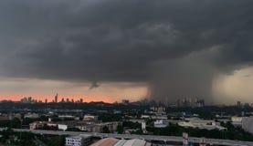 雨风暴 免版税库存图片