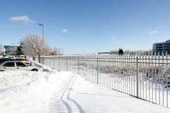 冻雨 免版税库存照片