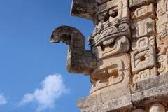 雨` chaac `的玛雅神 免版税图库摄影