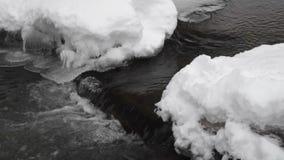 雪、冰和水 股票录像