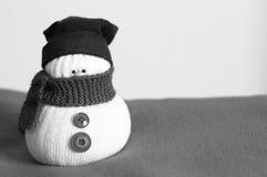 雪人-室内设计-圣诞节装饰 免版税库存图片