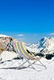 滑雪休息室 免版税库存图片