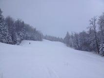 滑雪休闲 免版税图库摄影