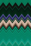 雪佛之字形深绿样式抽象派背景趋向 库存例证
