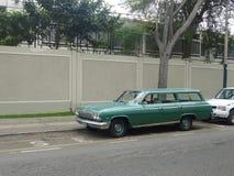 雪佛兰因帕拉小型客车 免版税库存照片