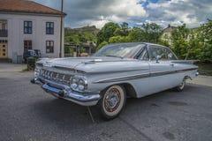 1959年雪佛兰因帕拉小轿车 库存图片