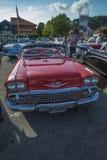 1958年雪佛兰因帕拉敞篷车 免版税图库摄影