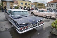 1960年雪佛兰因帕拉4门Hardtop轿车 库存照片