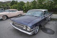 1960年雪佛兰因帕拉4门Hardtop轿车 免版税库存图片