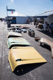 1957年雪佛兰敞篷 免版税库存图片
