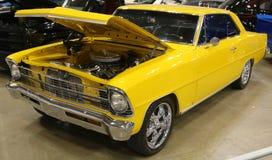 1967年雪佛兰新星超级体育古董汽车雪佛兰新星超级体育古董汽车 图库摄影