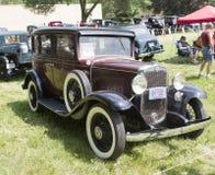 1931年雪佛兰特别轿车侧视图 图库摄影