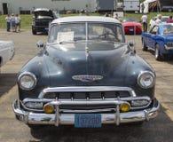 1952年雪佛兰豪华蓝色 免版税库存照片