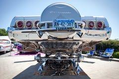 1965年雪佛兰飞羚镀铬物飞机脚架 免版税库存图片
