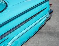 1958年雪佛兰飞羚 免版税库存照片