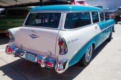 1956年雪佛兰贝莱尔小型客车 免版税库存图片