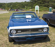 1968年雪佛兰Camaro正面图 库存图片