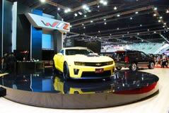 雪佛兰Camaro ZL1小轿车 免版税库存照片
