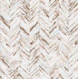 雪佛老被绘的木条地板无缝的地板纹理 库存照片