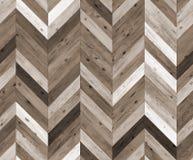 雪佛任意颜色自然木条地板无缝的地板纹理 图库摄影