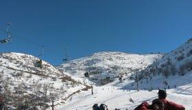 滑雪假期 库存照片