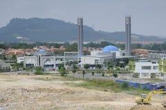 雪兰莪的,马来西亚Puncak Alam清真寺 库存照片