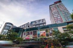 雪兰莪- 5月18 :这是2012年5月18日的新的商城电话帝国购物画廊在梳邦再也,雪兰莪,马来西亚 免版税库存照片